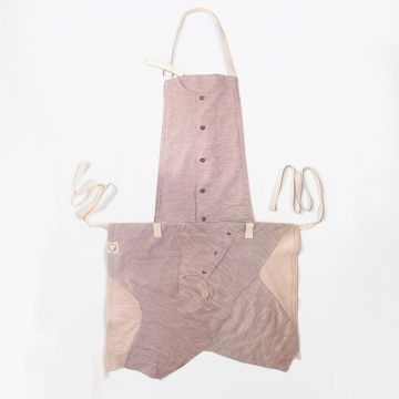 feature picture of [Cut & Sewn : : Apron with Upcycling Unwanted Baby Clothes]